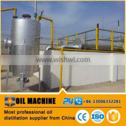 Pyrolysis Tire Oil Recycling to Diesel Grade Oil Distillation Plant