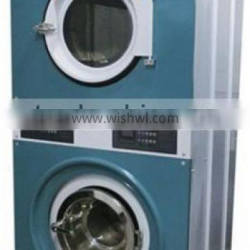10kg Full automatic industrial stack washer dryer China