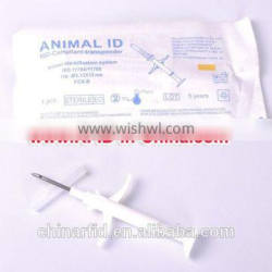 Injectable RFID for Pets, Smallest Animal RFID Glass Tag