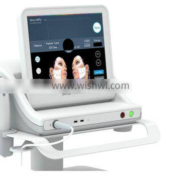 Professional Hifu Face Lifting High Intensity Focused Ultrasound Machine Prices Hifu CE Approval Nasolabial Folds Removal