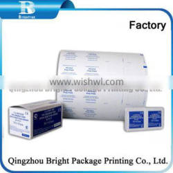 Aluminum Foil Wrapping Paper for single restautant wet wipes, Individual Eye Glasses Cleaning Wipes