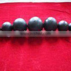 hot forging of mine steel ball with low wear abrasion