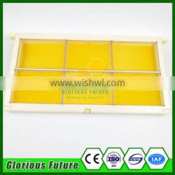 2017 hot comb honey storage box container with bee frame for beekeeping