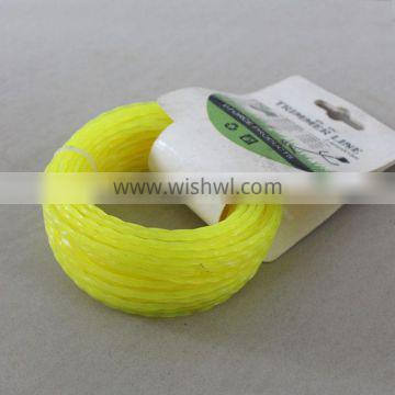 2.4mm Garden Line Grass Trimmer Line for Brush Cutter Spare Parts
