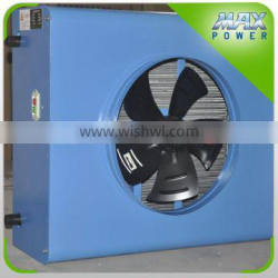 Hot water heater for greenhouse heating equipment