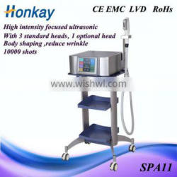High Intensity Focused Ultrasound Wrinkle Removal Beauty Machine
