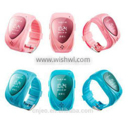 child tracker gps tracker watch kids with SOS panic button, GPS+LBS, android and iOS app and long standby time