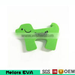 Melors high quality Eco-friendly cute animal shaped baby safety eva door stop/door protector item