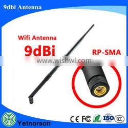 Wide band 698-2700mhz 9dbi 4g antenna external with SMA connector for huawei e5373 router