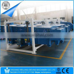 China Weiliang FYBS linear vibration sieve sifter screener for agricultural