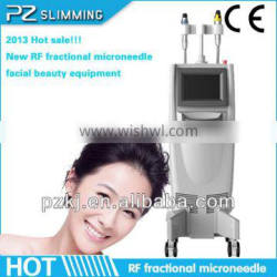 immediate effect bipolar 5MHZ wrinkle removal face lift fractional rf ,micro needle fractional rf PZ-8
