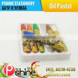 Top Quality Customized Color cheap crayon oil pastel stationary gift set for kids