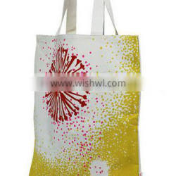 #4solid color plaid polyester tote bag supplier