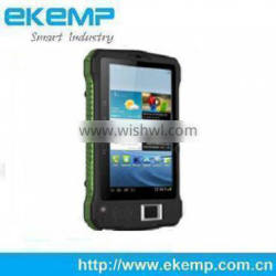 Android Biometric Fingerprint Card Reader , Tablet Barcode Scanner Camera