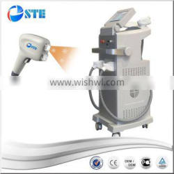 Beard 2016 2017 Supper Price Big Spot Size Advancing Two Handles Diode Laser 808nm 810nm /OPT IPL E-light 2 In 1 Beauty Machine 0-150J/cm2