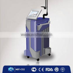 15W(20W) Big Power Real 60W Fractional Co2 Laser Scar Removal Machine For Sale Tattoo /lip Line Removal