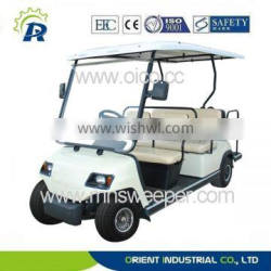garden hotel battery use golf buggy environment friendly