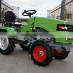 12hp 15hp mini tractor with single plough ,rotary tiller