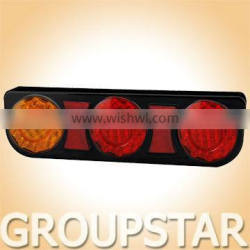 100% Waterproof E4 UV PC LED Truck Combination Tail amps