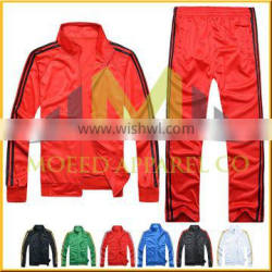 Hot sale customized tricot tracksuits with custom logo