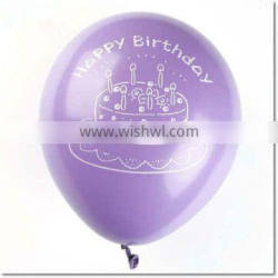 Made in China! latex round birthday party balloon decoration