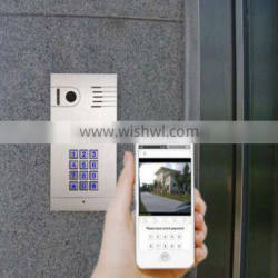 Wholesale Smart Home Security SJ45 IP Internet WIFI Video Door Phone With Remote Controlling APP for Android and IOS Devices