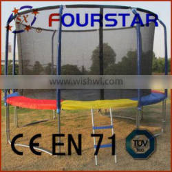 2014 Best Selling Fourstar trampoline tent (6~16FT) with ladder