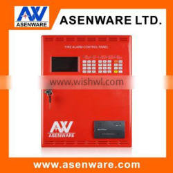 Addressable fire control panel with LCD display screen easy to installation
