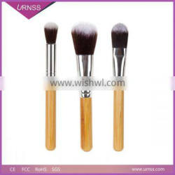 2015 New Arrival Metallic Cosmetic Brushes Golden Single Makeup Brush Set