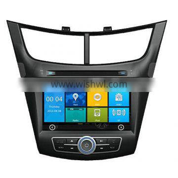 car dvd GPS car parts For NEW SAIL 2015 with Win CE 6.0 system 800MHz MCU 3G Phone GPS DVD BT