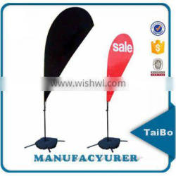 cheap advertising outdoor customised polyester teardrop poles