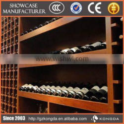2015 Promotion corner wine cabinet,wine bottle display rack
