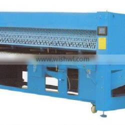 CE automatic China industrial laundry bed sheet folding machine