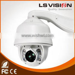 LS VISION 2 Megapixel 1080P Outdoor High Speed Dome IP Camera PTZ support Auto tracking