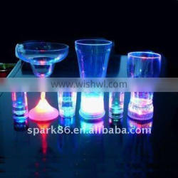 flash cup mini led water cup with led