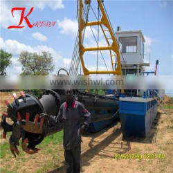 China dredger cutter suction dredger price
