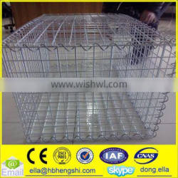 Hot dipped galvanized welded gabion box/gabion box/welded gabion box