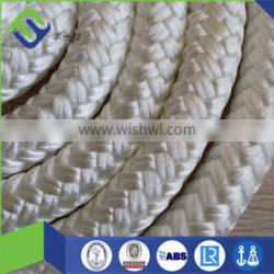 Braided yacht sailing polyester/nylon mooring rope 16mm for sale