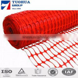 HDPE orange plastic snow fencing/bop netting/snow barrier net