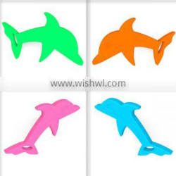[hot!]OEM brand dolphin teething,dolphin teething toys,dolphin silicone pendant