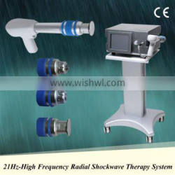 Shockwave therapy machine 2016 with MDD&CE and 3 years warranty