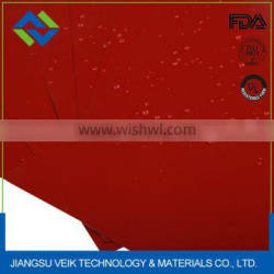 Silicone rubber coated glass Safety Curtains heat resistant 1mm thickness