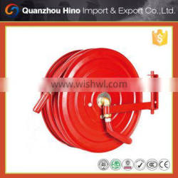Types of fire hose and hose reel