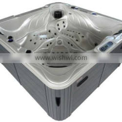 Large size Outdoor SPA whirlpool hot tub in feet price with UV System