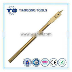 High quality carbon steel round shank wood boring drill bits