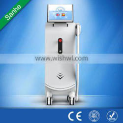 best-selling permanent painless fast professional 808nm diode laser hair removal machine from Sanhe