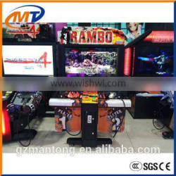 CE approval Rambo shooting game machine/Hot Sale With High Quality Electronic Simulator RAMBO Arcade Shooting machine