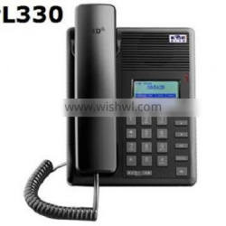 SIP 2.0 PL330 VOIP Telephone /hotel intercom system Hands-free ringing choice vxworks voip sip phone with rj45