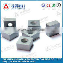 YG8 YG8C YG8N Tungsten carbide Square blade with hole