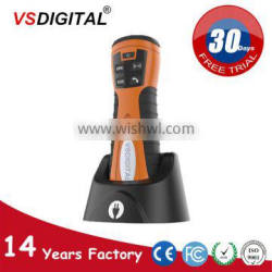 Big storage capacity security guard patrolling system with online software